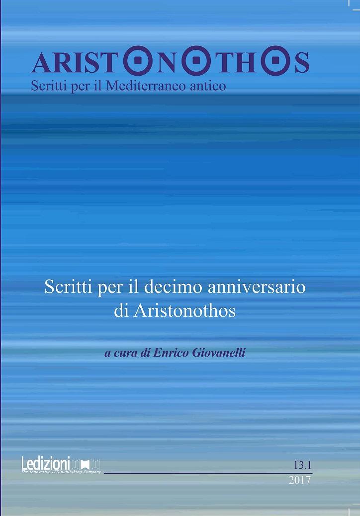 Visualizza N. 13.1 (2017): Scritti per il decimo anniversario di Aristonothos