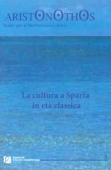 Visualizza N. 8 (2013): La cultura a Sparta in età classica