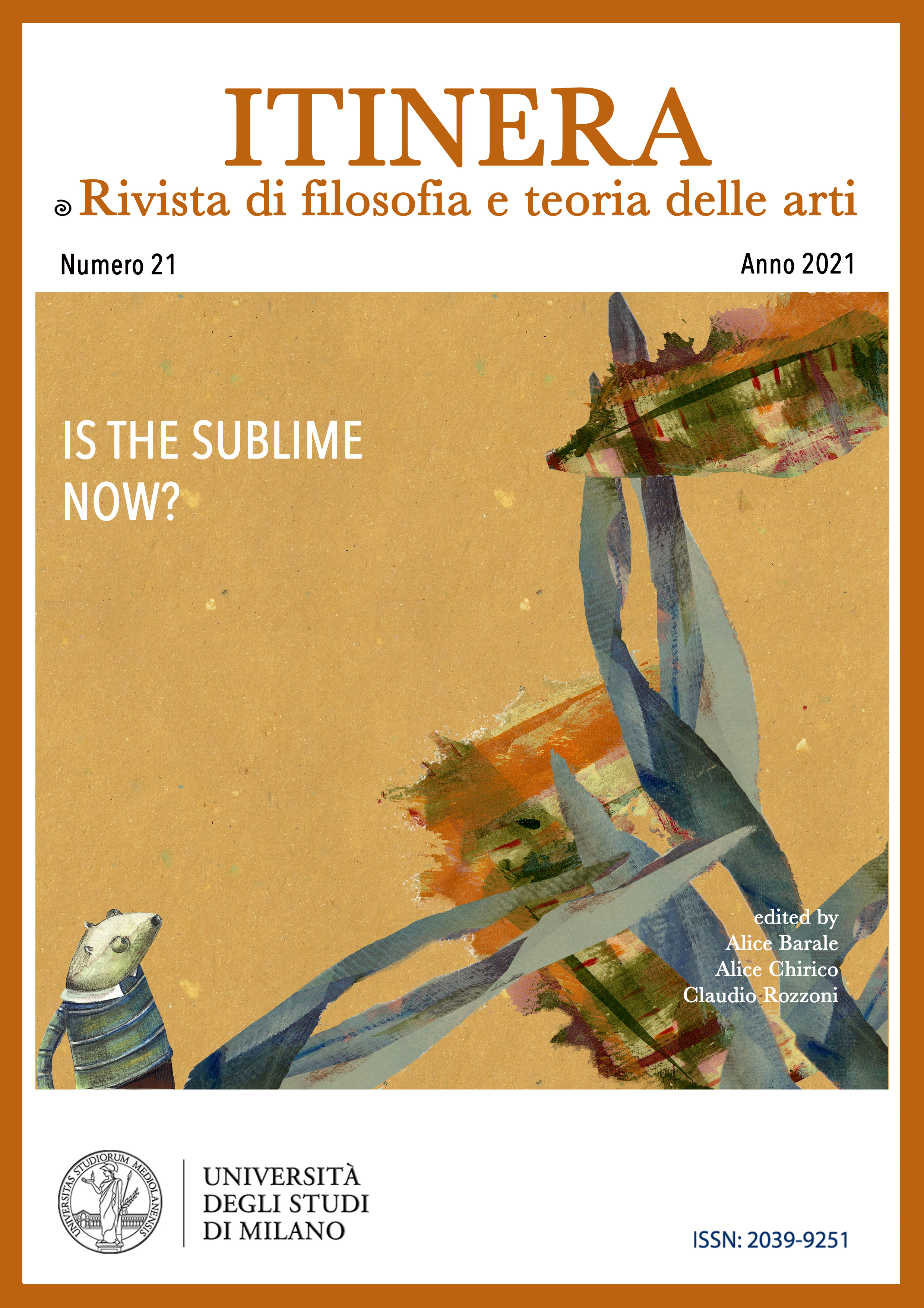 Visualizza N. 21 (2021): Is the sublime now?