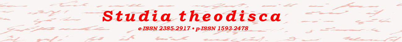 Studia theodisca - ISSN 2385-2917