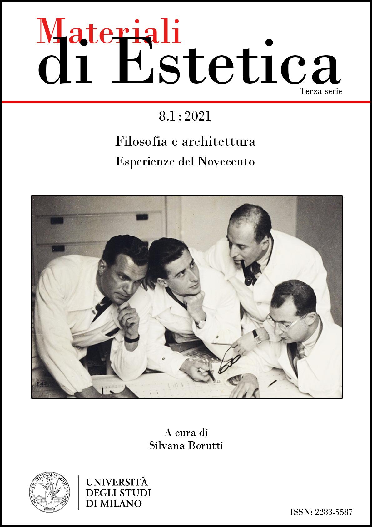 Visualizza N. 8.1 (2021): Filosofia e architettura. Esperienze del Novecento