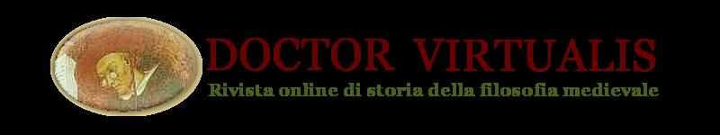 Doctor Virtualis, rivista online di storia della filosofia medievale