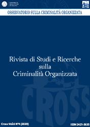 Visualizza V. 6 N. 4 (2020): Rivista di Studi e Ricerche sulla criminalità organizzata