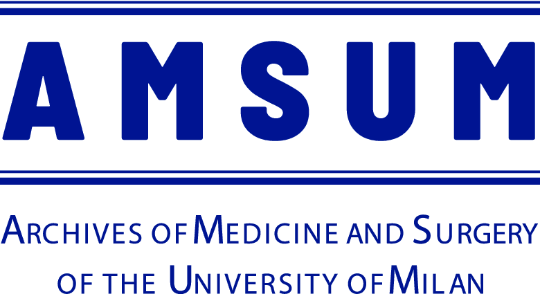 AMSUM Archives of Medicine and Surgery of the University of Milan