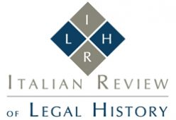 Logo Italian Review of Legal History