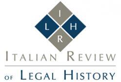 Logo Italian Review of Legal History